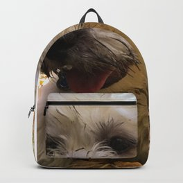 dirty puppy Backpack