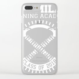 Dora Milaje Training Academy Class of 2018 Clear iPhone Case