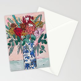 Australian Native Bouquet of Flowers after Matisse Stationery Cards