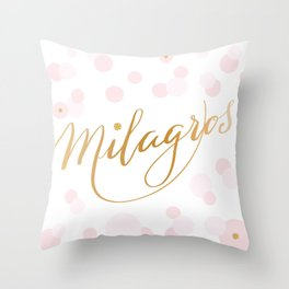 Milagros Throw Pillow