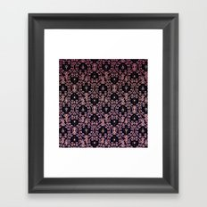 PAISLEY PATTERN IN PINK Framed Art Print