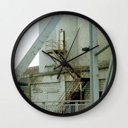 Rusty Stairs Wall Clock
