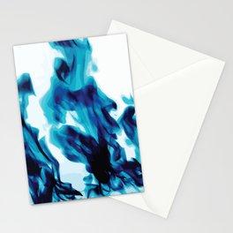 Ephemeral Blues Stationery Cards