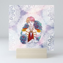 BTS V, King Taehyung, Kings of KPOP, Love Yourself, Boy With Luv Mini Art Print