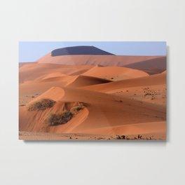 Sand Dune Sculpture Metal Print