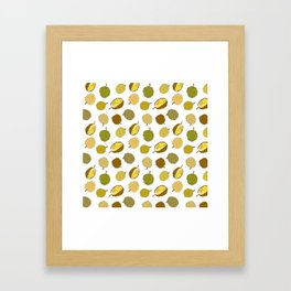 Durian Fruit Framed Art Print