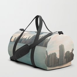 Tonight -Chicago Skyline Photography Duffle Bag