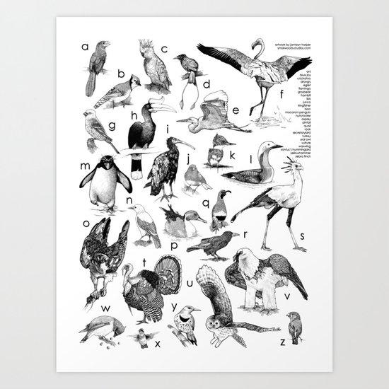 Bird Poster Art Print