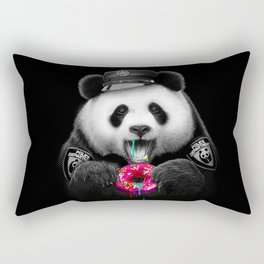 DONUT COP PANDA Rectangular Pillow
