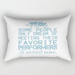 I Raised Mine Theater Rectangular Pillow