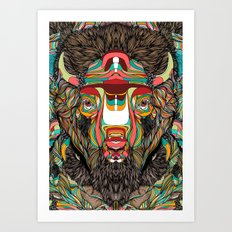 Bison (Feat. Bryan Gallardo) Art Print