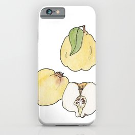 ABC fruit & vegetables iPhone Case
