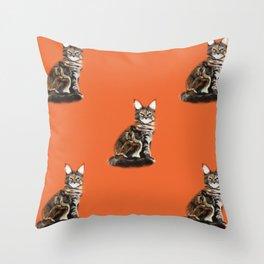 The Royal Safir Throw Pillow