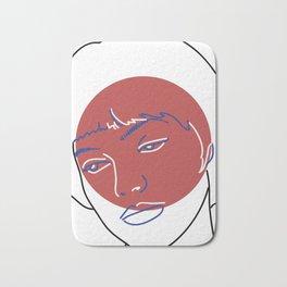 Nana (Vivre Sa Vie - Jean-Luc Godard) Bath Mat