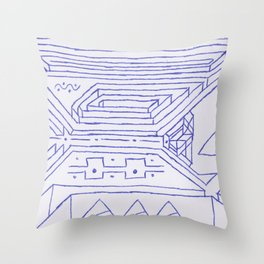 PowerLines 26 Throw Pillow