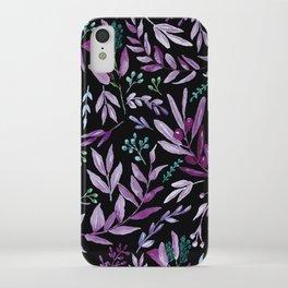 Eucalyptus Violet iPhone Case
