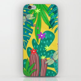 Fantasy Botanical #8 iPhone Skin