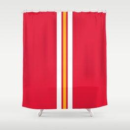 Kansas City Football Shower Curtain
