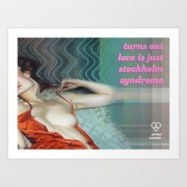 Valentines: Stockholm Art Print