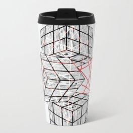 Cube Metal Travel Mug