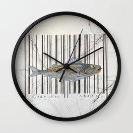Code bar Wall Clock
