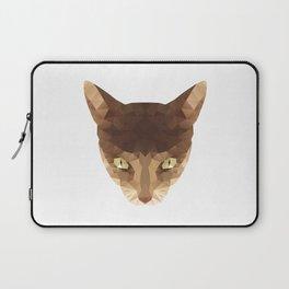 triangular cat Laptop Sleeve