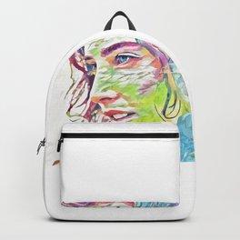 Cobie Smulders (Creative Illustration Art) Backpack