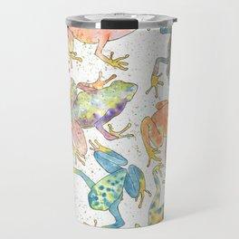 Frogs Travel Mug