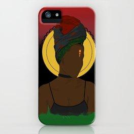 Pan African Queen iPhone Case