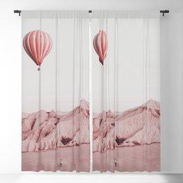Desert Hot Air Balloon Blackout Curtain