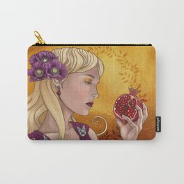 Goddess of the Dead, or Persephone holding a pomegranate Carry-All Pouch