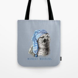 Monday Morning Tote Bag