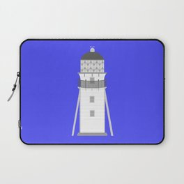 Lighthouse in gray an white Laptop Sleeve