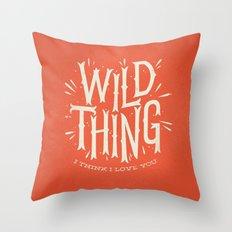 Wild Thing Throw Pillow