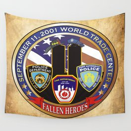 Fallen Heros Wall Tapestry