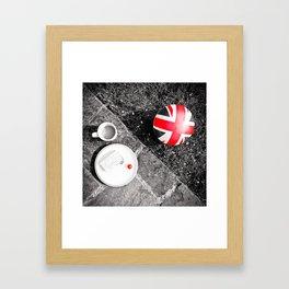 British Sunday | Still Life 88A Framed Art Print