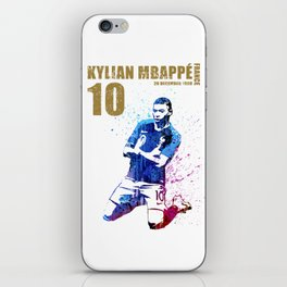 World cup 2018 - france 10 gold iPhone Skin