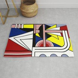 Roy Lichtenstein digitally remounted Rug