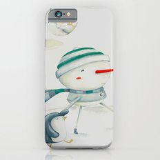 Snowman and friend iPhone 6s Slim Case