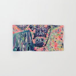 Moo-ve over winter- Cow Hand & Bath Towel