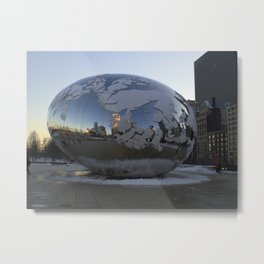 A New Planet ?  No it's The Bean Metal Print