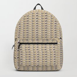 Steve Buscemi's Eyes Tiled Pattern Comic Backpack