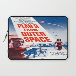 Vintage poster - Plan 9 from Outer Space Laptop Sleeve