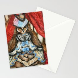 Madame Tawny's Debut Stationery Cards