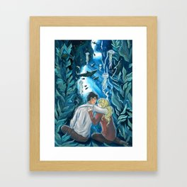 Being Alone With You Framed Art Print