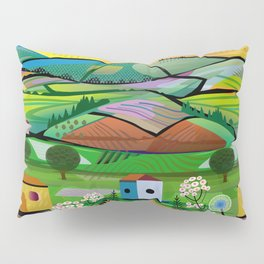 Tea Plantation Pillow Sham
