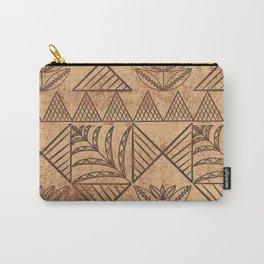 UrbanNesian Niuean Hiapo Carry-All Pouch