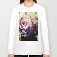 grateful dead Long Sleeve T-shirts featuring Phil Lesh Acrylic Painting Grateful Dead and Furthur by Acorn
