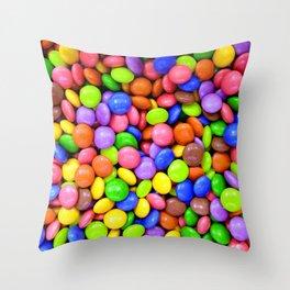 Colorful Bonbons Throw Pillow