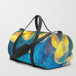 Aquarium Jellyfish Duffle Bag